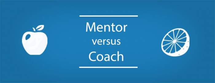 A COACH, A MENTOR … A WHAT?