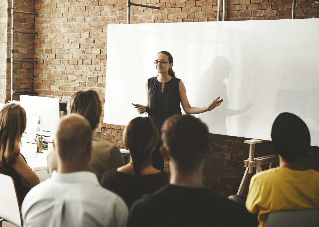 employees receive training and coaching